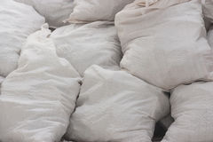 White bags Stock Photography