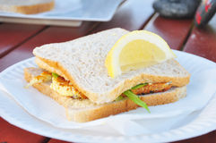 White Bait Fritter Stock Images