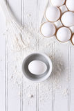White Baking Still Life Royalty Free Stock Photography