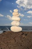 White balancing stones Stock Image