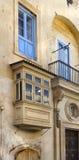 White balcony Royalty Free Stock Photo