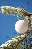 White ball, round balloon Stock Photo