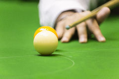 White ball snooker Stock Photos