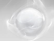 White ball on white Stock Photography