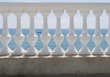 White balustrade Stock Images