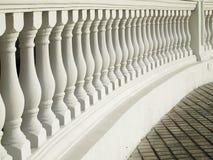 Free White Balustrade Pattern Stock Photography - 20737282
