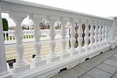 Balustrade with pillar Royalty Free Stock Photography