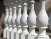White Balustrade Royalty Free Stock Images