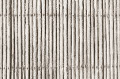 white bamboo fence texture Royalty Free Stock Images
