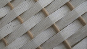 White bamboo weave texture Royalty Free Stock Image