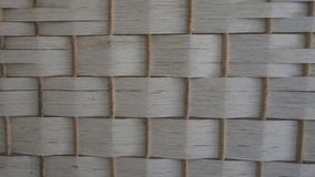 White bamboo weave texture Royalty Free Stock Photo