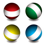 White band orb Royalty Free Stock Image