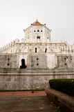 White Bangkok fortress Stock Images