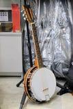 White banjo Stock Photos