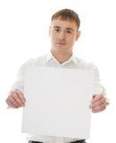 White banner Stock Photo