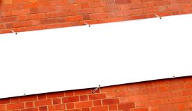 White banner Royalty Free Stock Images