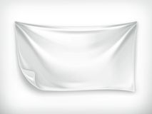 White banner Royalty Free Stock Image