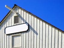 White barn Stock Photos