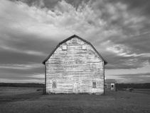 White Barn Ruin Royalty Free Stock Images
