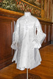 White baroque style clothes at Hampton Court Royalty Free Stock Image