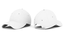 White baseball cap Royalty Free Stock Image