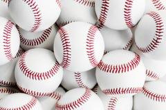 White baseball textured wallpaper background Stock Photos