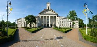White basilica in Bydgoszcz Stock Photography