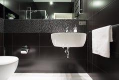 White basin Royalty Free Stock Photography