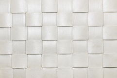 White basket close up. White basket texture background close up Royalty Free Stock Photos