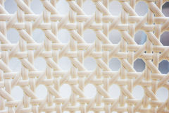 White basket weave Stock Image