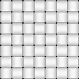 White basket weave Royalty Free Stock Images