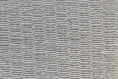 White basket weave. A chair white basket weave pattern Royalty Free Stock Image