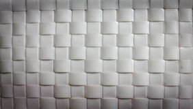 White basket weave pattern Royalty Free Stock Photography