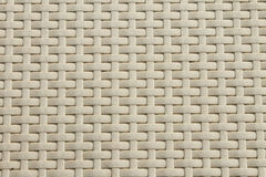 White basket weave pattern. Many rows Royalty Free Stock Photos