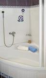 White bath Royalty Free Stock Photography