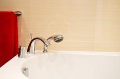 White bath tub Royalty Free Stock Photos