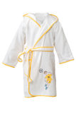 White bathrobe Royalty Free Stock Images