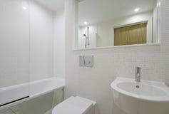White bathroom Royalty Free Stock Photo