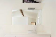White bathroom, sink Stock Photo