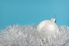 White bauble Royalty Free Stock Photo
