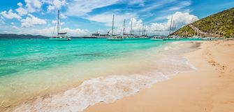 Free White Bay Beach, Jost Van Dyke Stock Image - 148005081