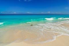 White beach royalty free stock photo