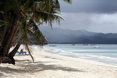White beach Royalty Free Stock Photography