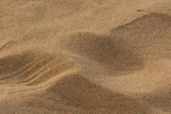 White beach. Sand, closeup the sand, nice texture and warm feel Royalty Free Stock Photos