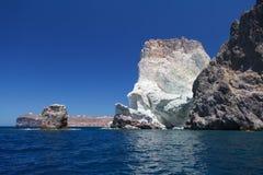 White Beach. Akrotiri. Santorini Royalty Free Stock Image