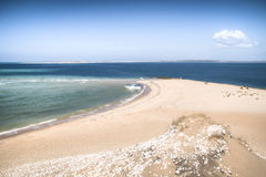 White beach on the Bazaruto Island Stock Photography