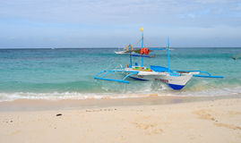 White beach, Boracay Island, Philippines Royalty Free Stock Images