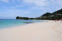 White beach, Boracay Island, Philippines Royalty Free Stock Photography