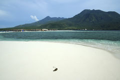 White beach camiguin island philippines Stock Photo