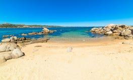White beach in Costa Smeralda Stock Photography